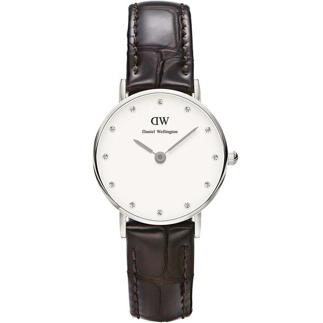 【公司貨】Daniel Wellington DW 瑞典簡約風格 26mm /Swarovski/水晶 / DW00100069