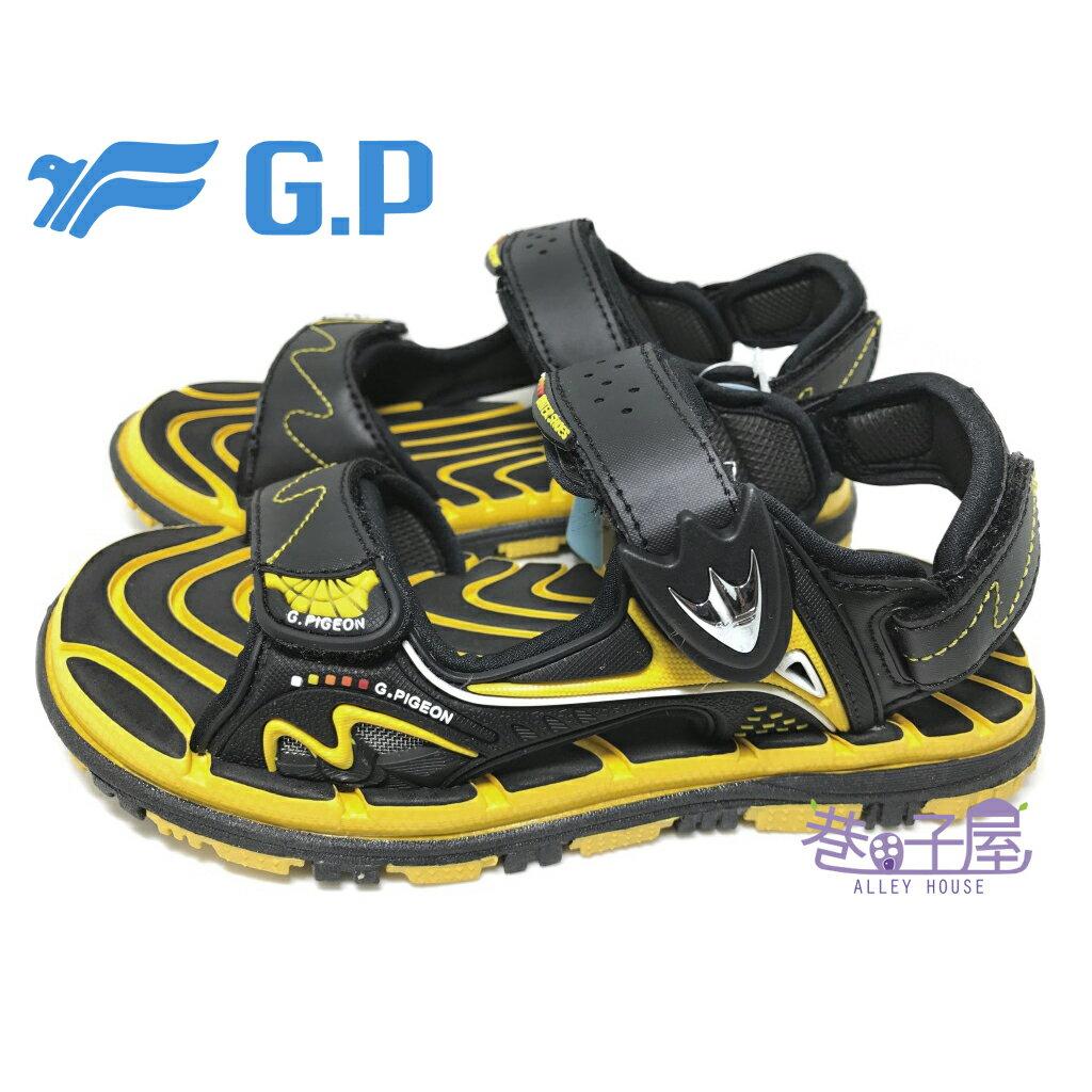 【巷子屋】G.P 童款磁釦兩穿系列透氣運動涼鞋 [5929] 黃 超值價$398