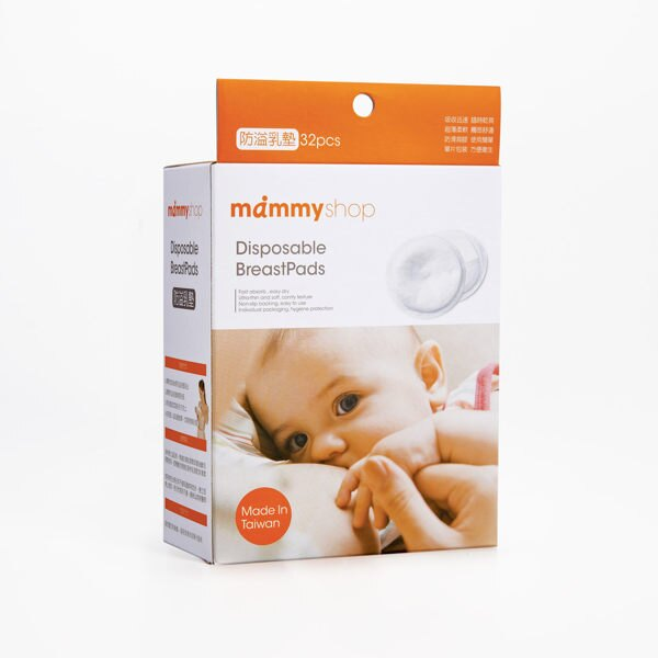 mammyshop 媽咪小站 - 防溢乳墊.單片包裝.32片
