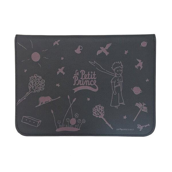 小王子正版授權-平板筆電保護皮套(黑)