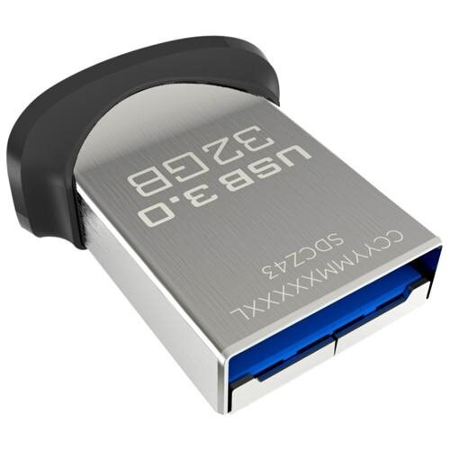 SanDisk 32GB Cruzer Ultra Fit USB 3.0 150MB/s 32G CZ43 128-bit AES Flash Pen Drive SDCZ43-032G-GAM46 0
