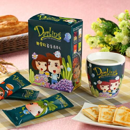 《親愛的》藍藻燕麥片8包(33g / 包) 0