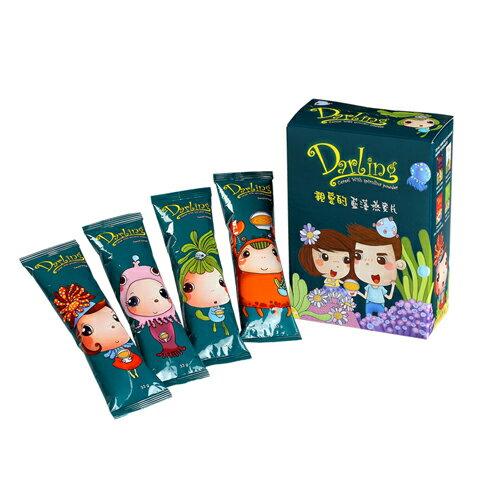 《親愛的》藍藻燕麥片8包(33g / 包) 1