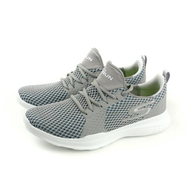 SKECHERSGORUNMOJO運動鞋網布灰色14812LTBLno787