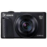 Canon數位相機推薦到Canon SX740 HS 翻轉螢幕 美肌自拍 送64G高速卡+專用電池+硬殼包+清潔組+讀卡機+小腳架+螢幕保護貼大全配 彩虹公司貨就在大通數位相機推薦Canon數位相機