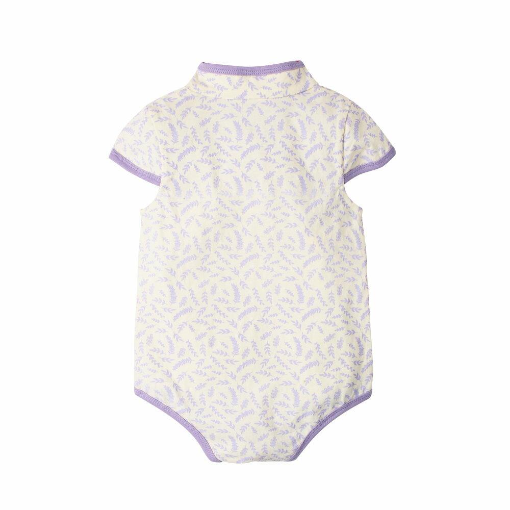 Augelute Baby 斜襟漂亮花朵短袖包屁衣 60321 5