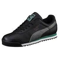 PUMA運動品牌推薦PUMA運動鞋/慢跑鞋/外套推薦到PUMA ROMA CLASSIC 黑 灰 男鞋 US 7.5~10.5 363413-01 D