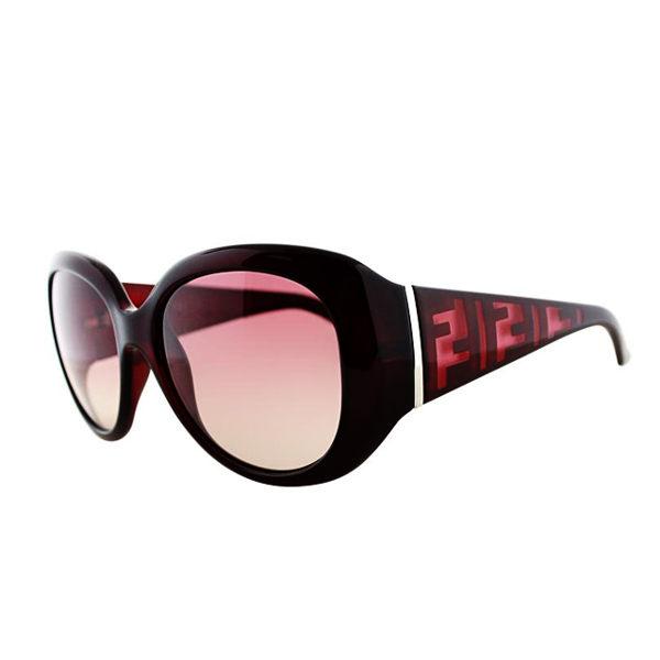 FENDI時尚LOGO太陽眼鏡紫紅色5357