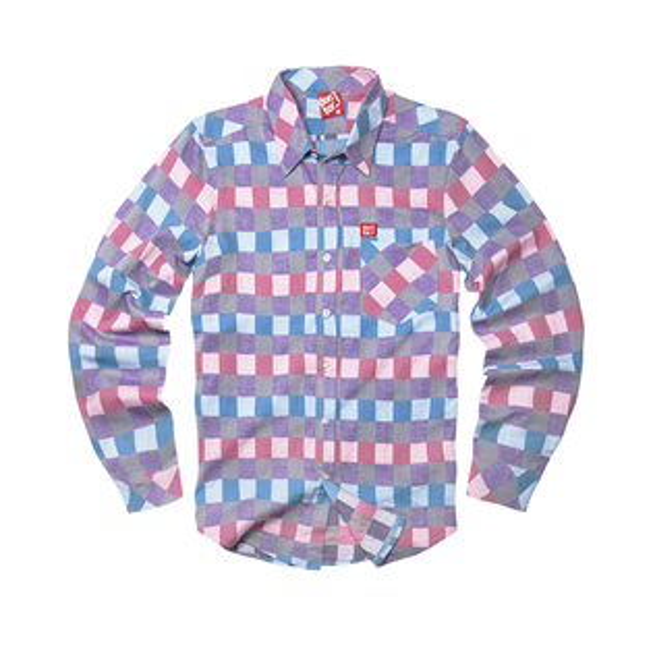 DoctorJ:DoctorJ格子長袖襯衫(男女款皆有)
