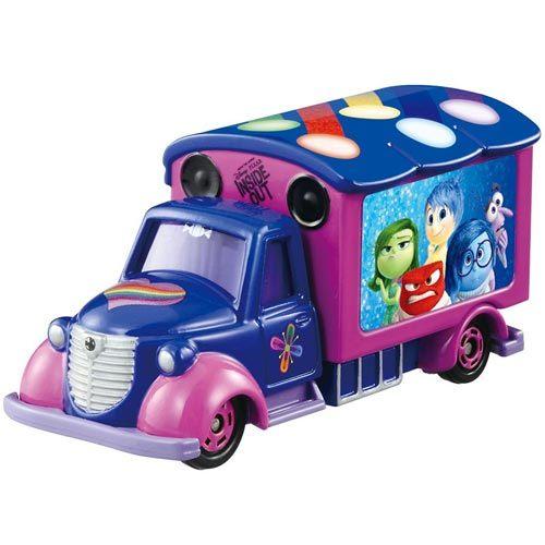 【奇買親子購物網】【TOMICA迪士尼】腦筋急轉彎夢幻宣傳車