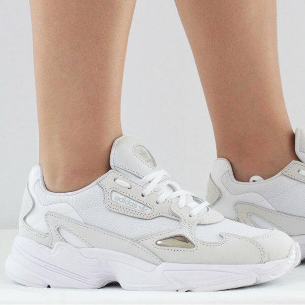 KUMO SHOES-Adidas Originals Falcon 白色
