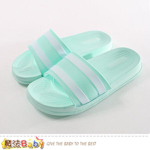 女鞋 時尚簡約休閒拖鞋 魔法Baby~sd0301