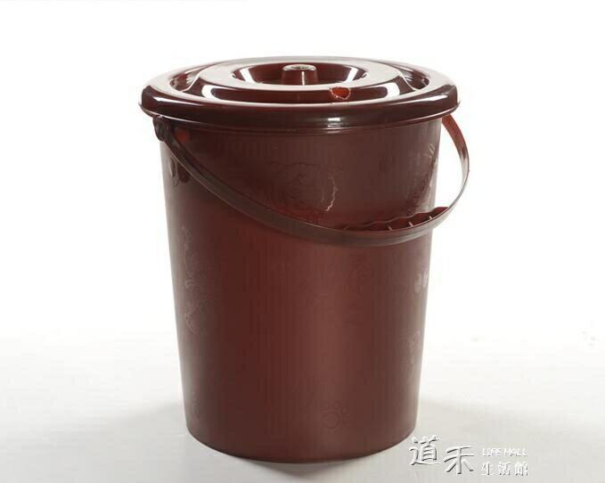 茶水桶 家用塑膠桶茶渣桶茶桶廢水桶排水功夫茶具茶盤茶道配件 秋冬特惠上新~