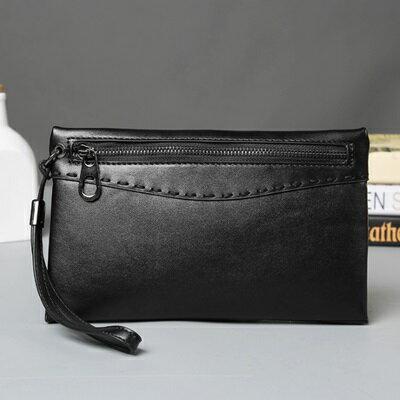 手拿包純色信封包-多功能收納時尚休閒男包包73sd41【獨家進口】【米蘭精品】