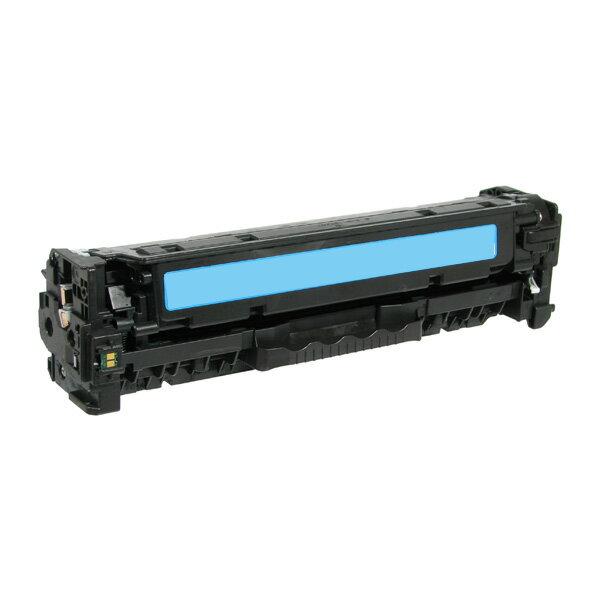 【非印不可】HP CC531A 藍色 (單支) 相容環保碳匣 適用CP2025n/CP2025dn/CP2025x/CM2320n/CM2320nf/CM2320fxi