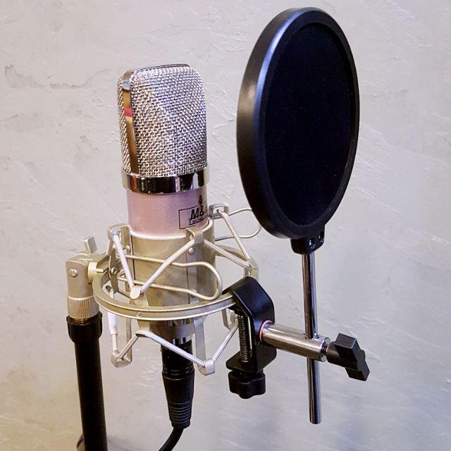 【k歌專屬】JIY小型防噴網電腦唱歌電容麥克風動圈手持話筒麥錄音唱歌專業防噴罩