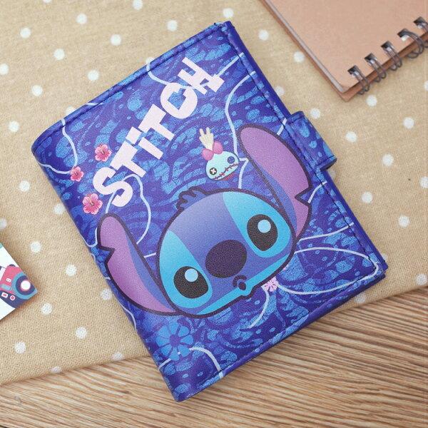 PGS7迪士尼系列商品-迪士尼史迪奇Stitch簡易皮夾錢包星際寶貝【SG2D71018】