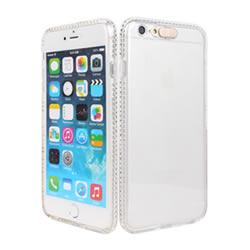 Ultimate- iPhone 6/6S 6 plus (5.5) 全邊晶透鑽 全透軟質手機外殼防摔抗震後背蓋保護殼 清水套 透明殼 透明軟殼