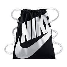 Nike HERITAGE GYMSACK 背包 束口袋 側拉鍊 鞋袋 黑 白 【運動世界】BA5128-011├【0621-0625】單筆滿799元結帳輸入序號:79910025-2↘現折100★滿..