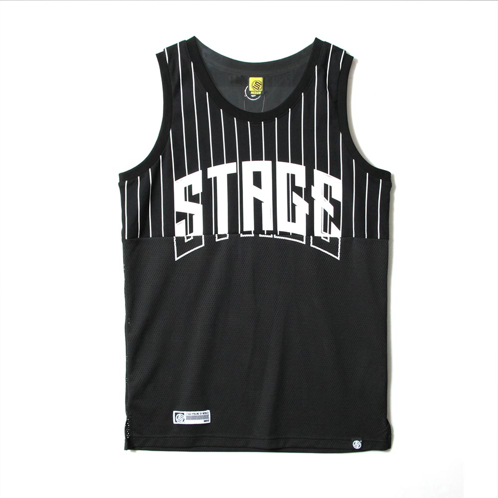 STAGE 2TONE BASKETBALL JERSEY 黑色/白色 兩色 6