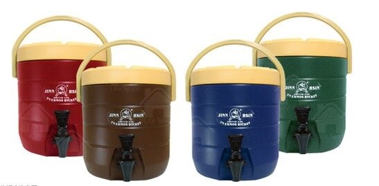 【小工人】營業用 13L不銹鋼內膽保溫桶/保冰桶/飲料桶/啤酒桶/不鏽鋼茶桶/不鏽鋼冰桶