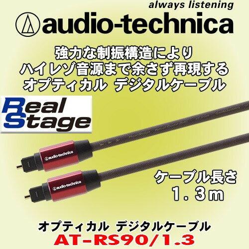 志達電子 AT-RS90 線長1.3米/3米/6米 日本鐵三角 高品質鍍金 光纖線 TOSLINK(方型) 對 TOSLINK(方型)