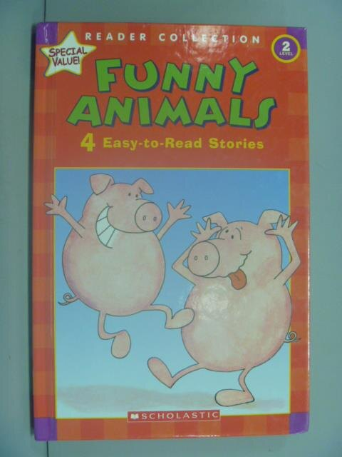 ~書寶 書T1/少年童書_ZBL~Funny Animals: 4 Easy~to~Rea