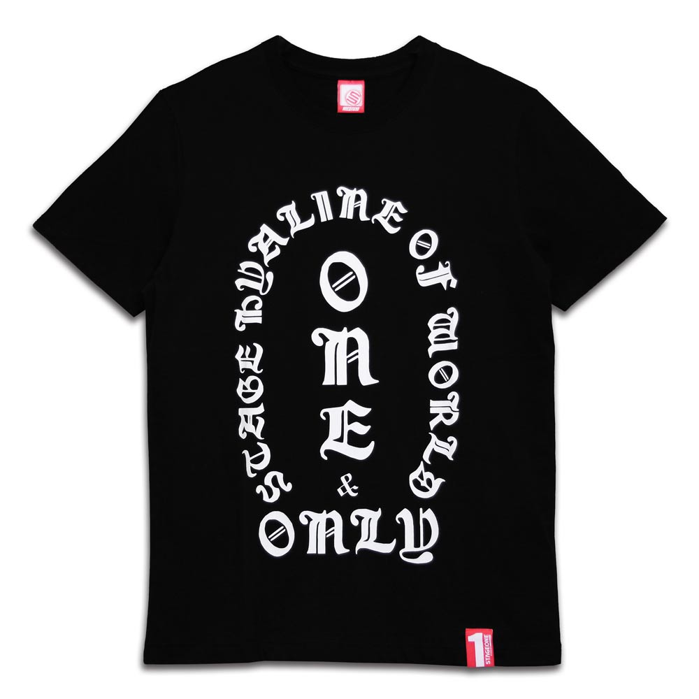 STAGEONE ONE SOUL TEE 黑色 / 橘色 兩色 4