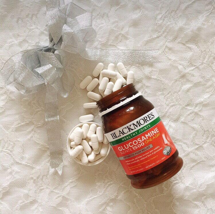 澳佳寶 Blackmores Glucosamine 葡萄糖胺 維骨力 1500mg(180粒) 2