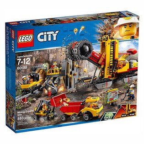 樂高積木LEGO《LT60188》2018年CITY城市系列-採礦專家現場