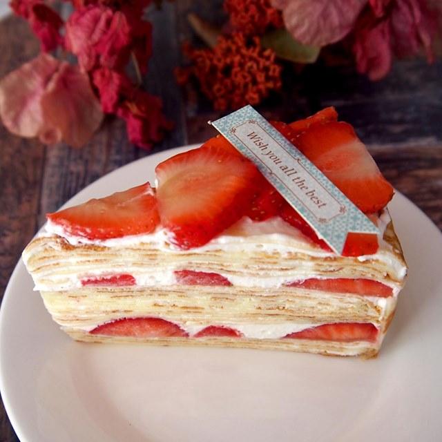心微笑手作蛋糕 季節限定草莓千層 6吋/8吋