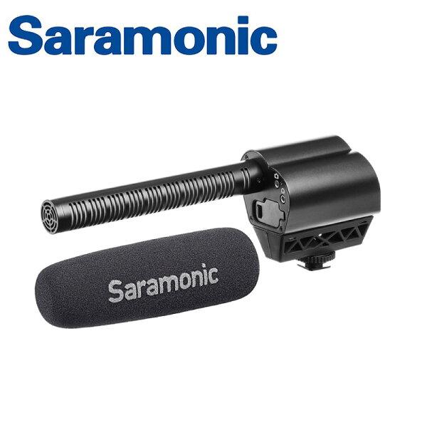 ◎相機專家◎Saramonic超指向性電容式麥克風VmicPro廣播級即時監聽防震底座公司貨