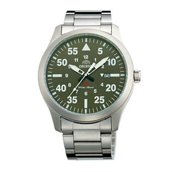 ORIENT東方錶SP系列(FUNG2001F)飛行運動石英錶鋼帶款藍色42mm