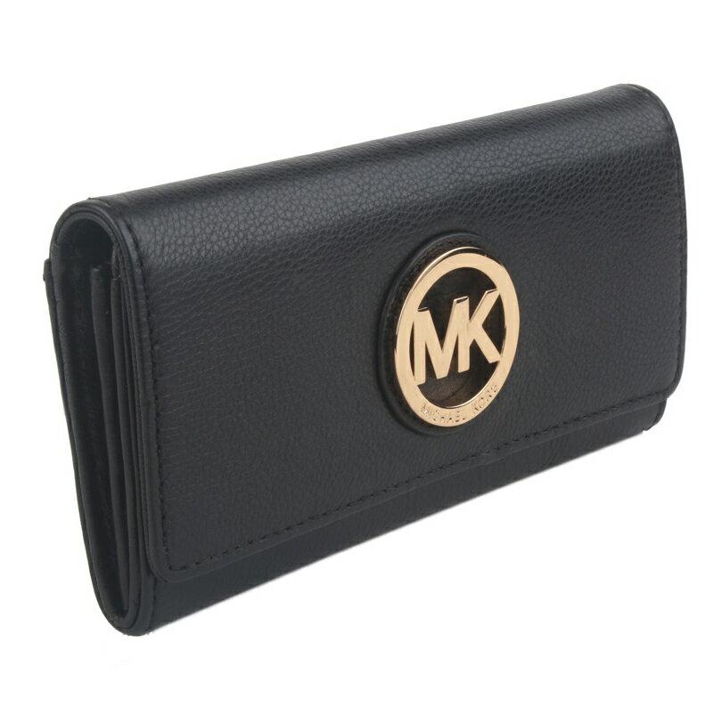 Michael KorsMK 35T3SFTE1L 真皮mk長夾長款錢夾錢包女士皮包 2