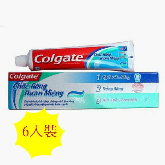 進口colgate牙膏 180g 6入裝