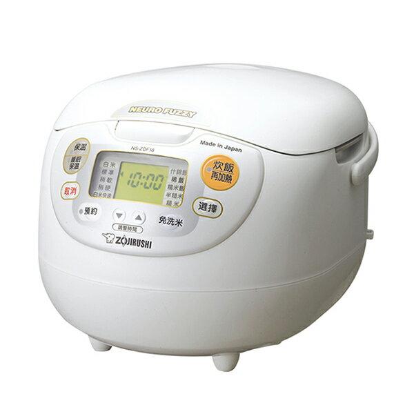 象印十人份微電腦炊飯電子鍋NS-ZKF18-WZ