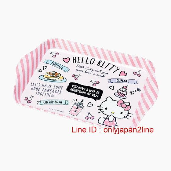 【真愛日本】17012500054  調味料放置皿-KT櫻桃愛心粉    三麗鷗 Hello Kitty 凱蒂貓 托盤 餐盤   廚房用具
