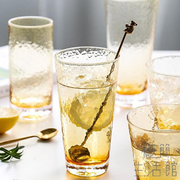 玻璃杯子水杯家用創意潮流喝水啤酒果汁飲料  聖誕節狂歡購