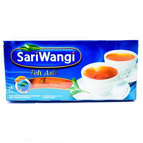 【印尼進口】SariWangiTehAsli紅茶包1.85g*25入(盒)