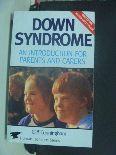 ~書寶 書T6/醫療_KHX~Understanding Down Syndrome