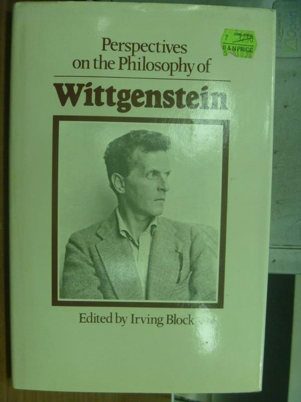 【書寶二手書T5/哲學_QOR】Perspectives on the philosophy of..._1981