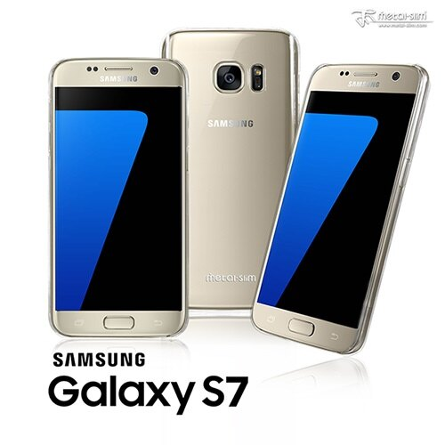 【UNIPRO】Metal-Slim Samsung Galaxy S7 SM-G930 奈米高抗刮PC TPU 透明保護殼
