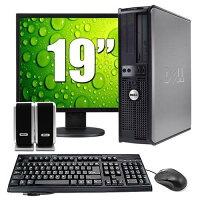 Dell Optiplex 745 Intel Pentium D 2.8Ghz , 4GB Memory 500GB HDD, DVD-ROM Windows 10 Home Premium + 19