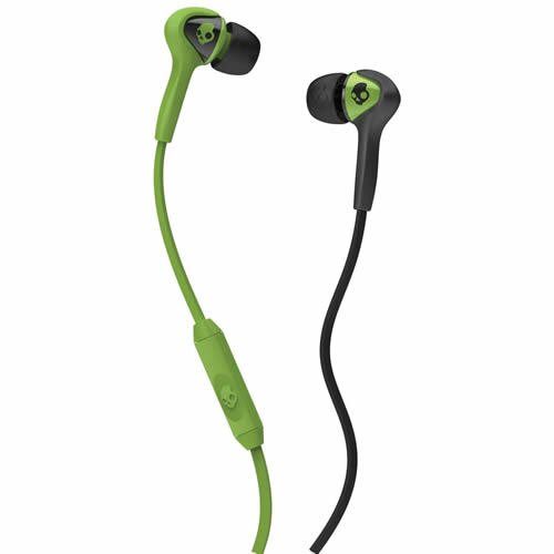 <br/><br/>  志達電子 S2SBFY-129 黑綠多彩 美國 Skullcandy Smokin buds耳道式耳機 for Apple Android<br/><br/>