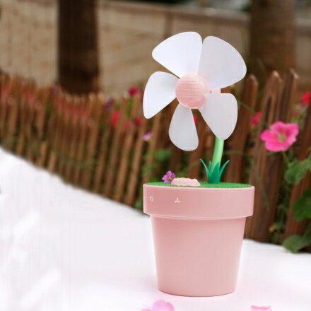 【ChenWorld】花盆風扇加濕器(花盆 風扇 加濕器 usb充電)