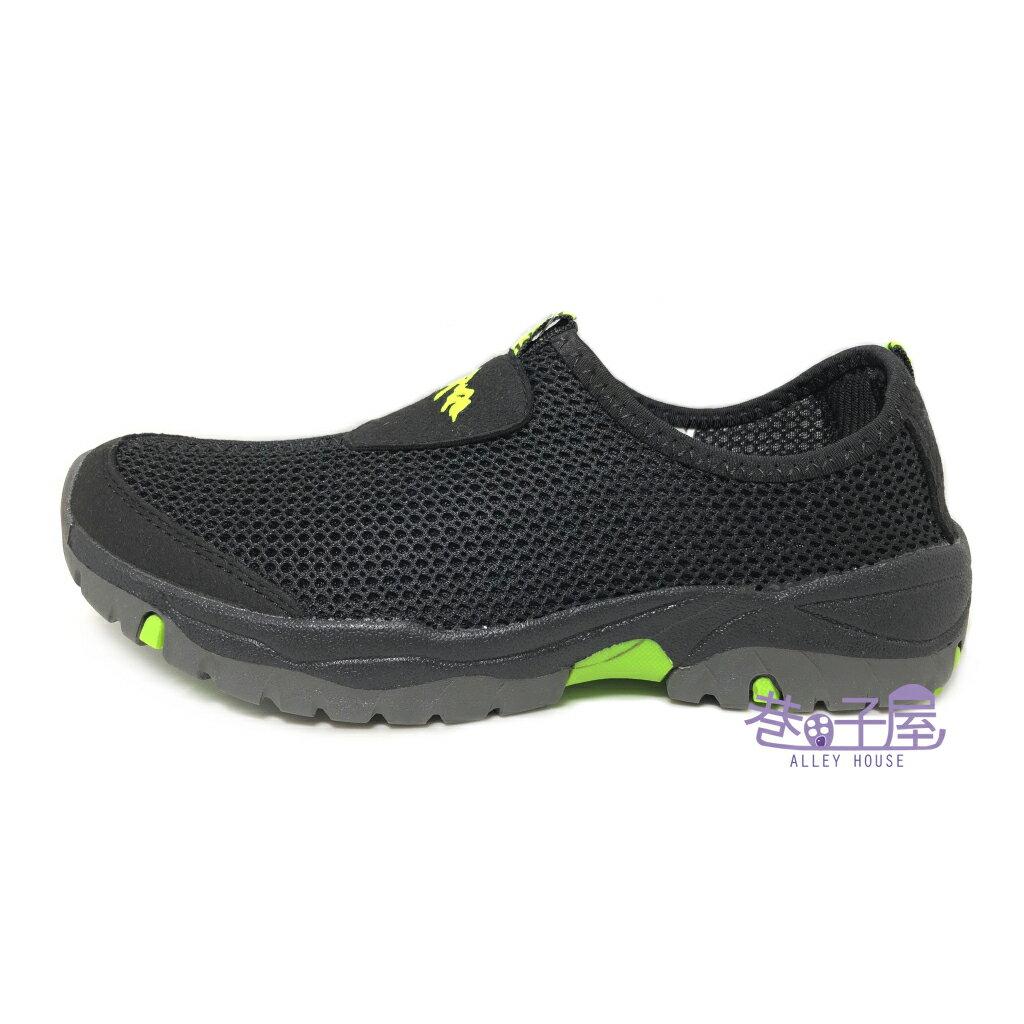 【限量回饋】Wenies PoLo 男款大網透氣套入式運動休閒鞋 方便鞋 懶人鞋 [6138] 黑 超值價$298