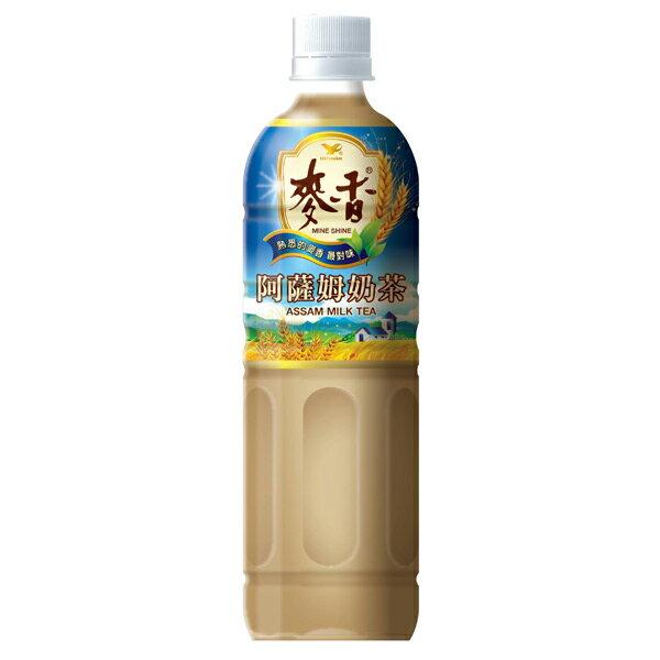 統一 麥香 阿薩姆奶茶 600ml (24入) / 箱 1