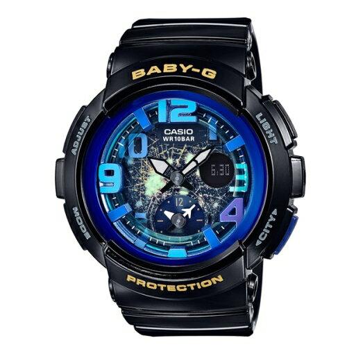 CASIO BABY~G  童趣旅遊 風 錶  BGA~190GL~1BDR