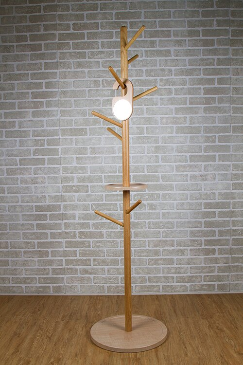 MIT日式無印風實木衣帽架