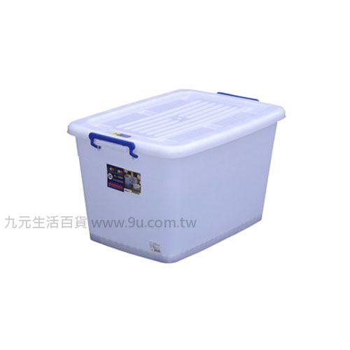 【九元生活百貨】聯府 K1500 滑輪整理箱(底輪) 置物櫃 收納櫃